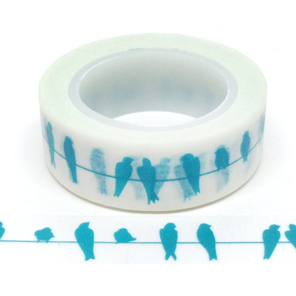 Washi Tape - Blue Birds - Must Love Party