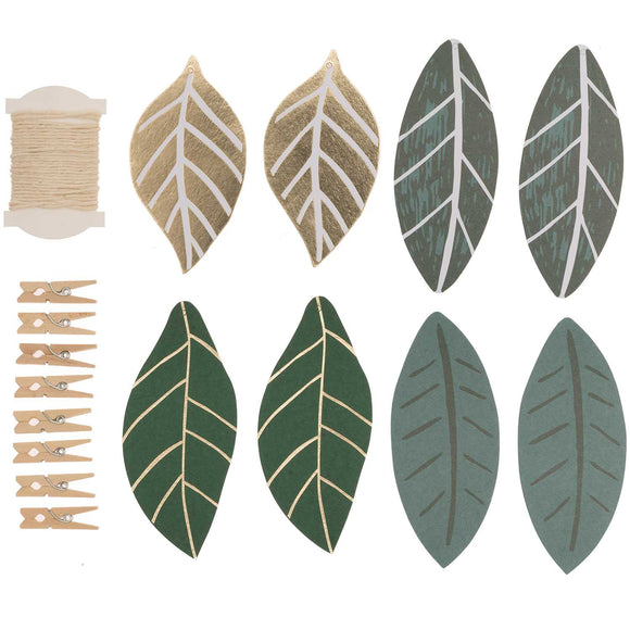 Nature Leaves Tags