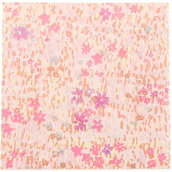 Flower Meadow Pink Napkins