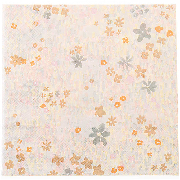 Flower Meadow Yellow Napkins