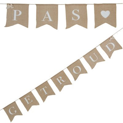 Vintage Affair - Pas Getroud Bunting - Must Love Party