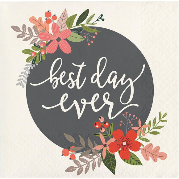 Best Day Ever Cocktail Napkins - Must Love Party