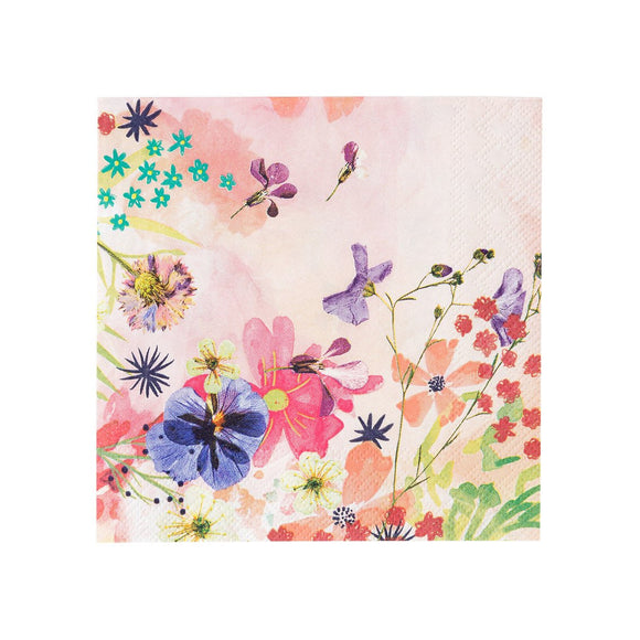 Floral Cocktail Napkins - Must Love Party