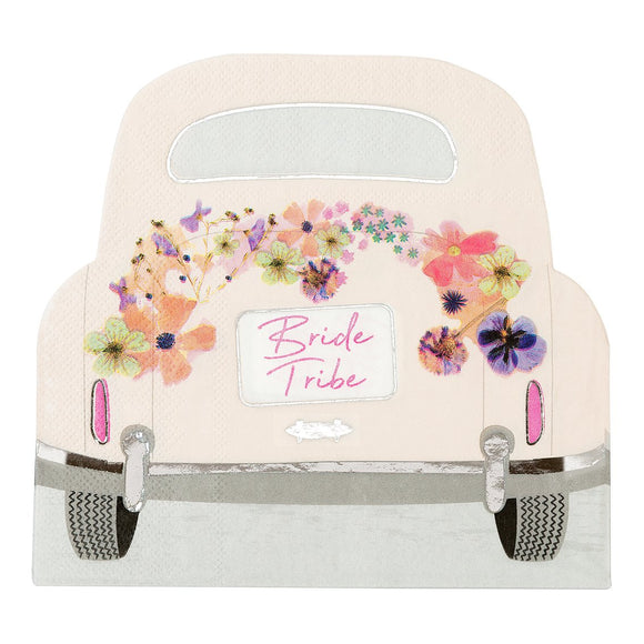 Bride Tribe Car Napkins - Must Love Party