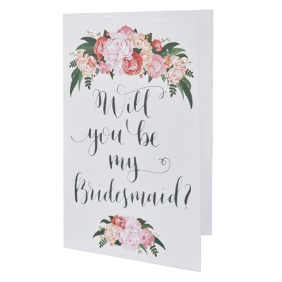 Will you be my Bridesmaid Cards (5) - Must Love Party