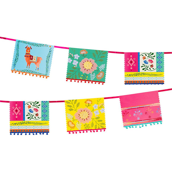 Boho Llama Garland - Must Love Party