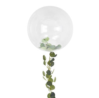 Orb Balloon with Vine Foliage - Must Love Party