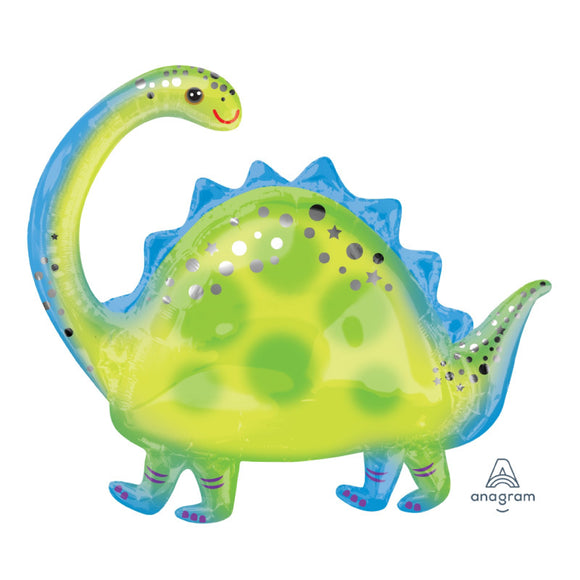 Brontosaurus Foil Balloon - Must Love Party