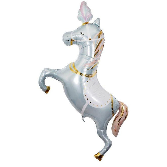 Circus Stallion Foil Balloon - Must Love Party