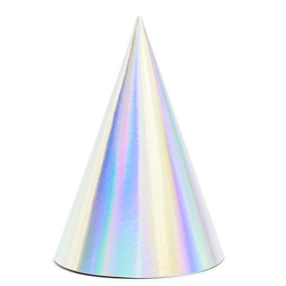 Iridescent Party Hats - Must Love Party
