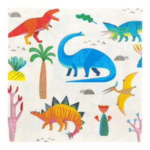Dinosaur Napkins - Must Love Party