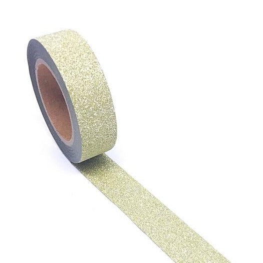 Washi Tape - Dusted Gold Glitter