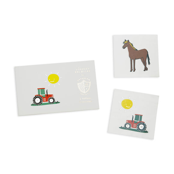 Farm Temporary Tattoos
