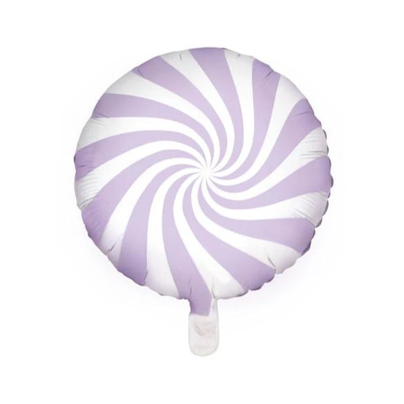 Pastel Lilac Candy Foil Balloon - Must Love Party