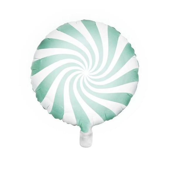 Pastel Mint Candy Foil Balloon - Must Love Party