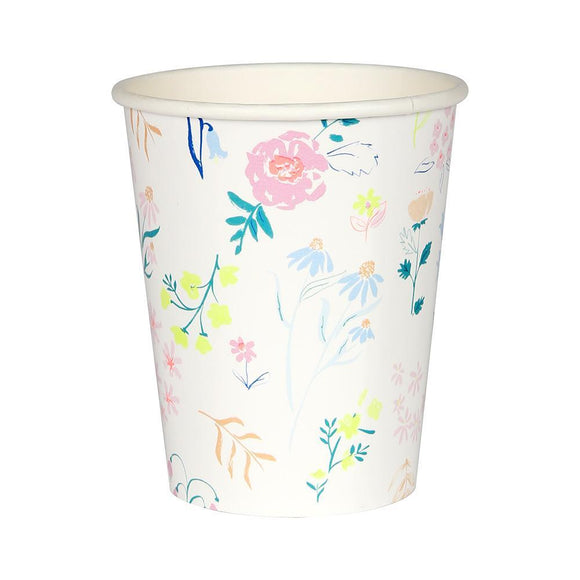 Wildflower Paper Cups (12) - Must Love Party