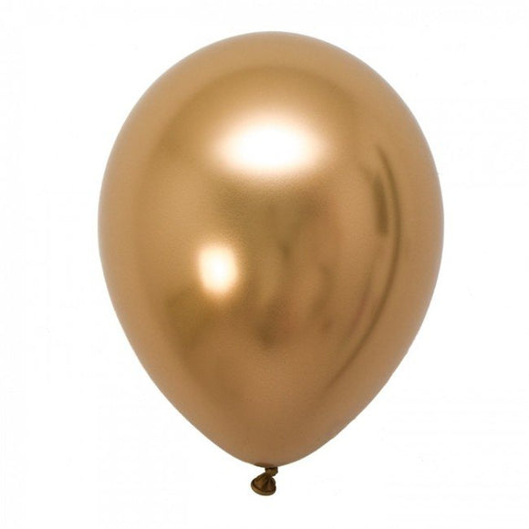 Gold Chrome Balloons - Must Love Party
