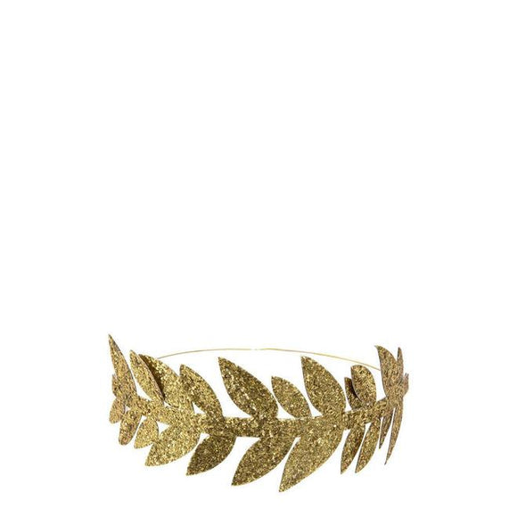 Gold Leaf Party Crowns - Must Love Party