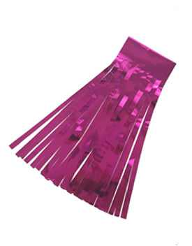 Hot Pink Foil Tassels - Must Love Party