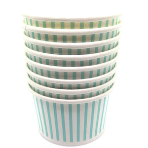 Mini Mint Blue Treat Cups - Must Love Party