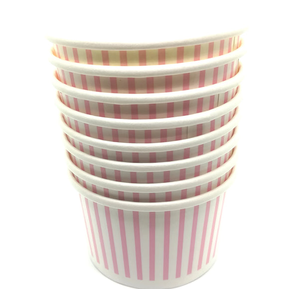 Pink Treat / Ice Cream Cups (12) - Must Love Party