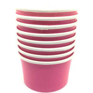 Cerise Pink Treat / Ice Cream Cups - Must Love Party