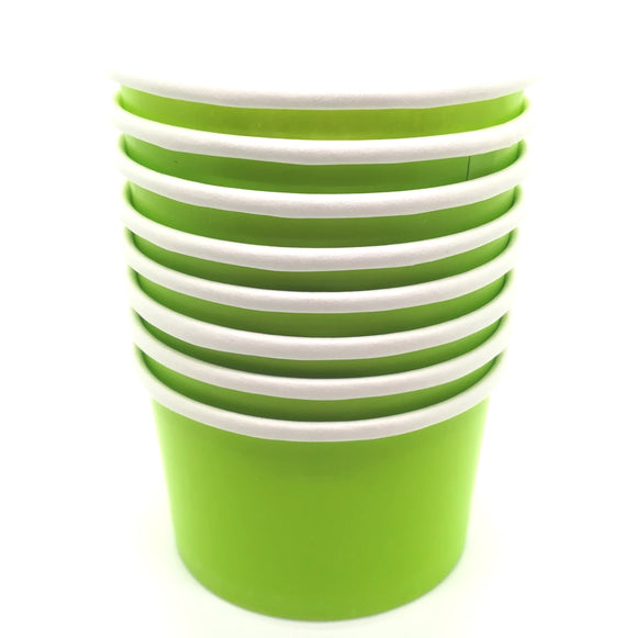 Lime Green Treat / Ice Cream Cups - Must Love Party