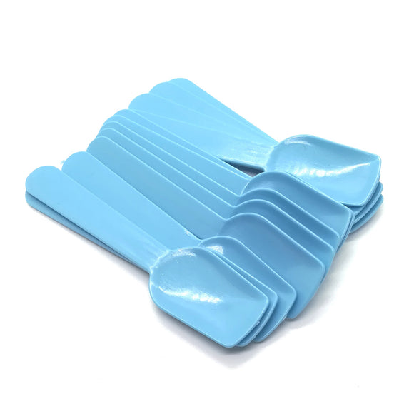 Pastel Blue Plastic Ice Cream Paddles - Must Love Party