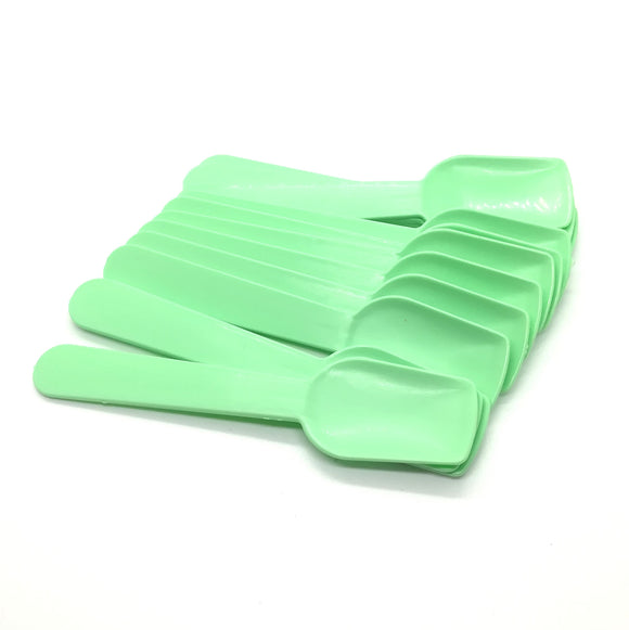 Pastel Mint Plastic Ice Cream Paddles - Must Love Party