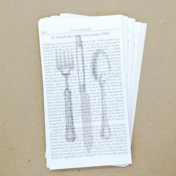 DIY French Vintage Cutlery Gift Tags / Place Cards (25 pk) - Must Love Party