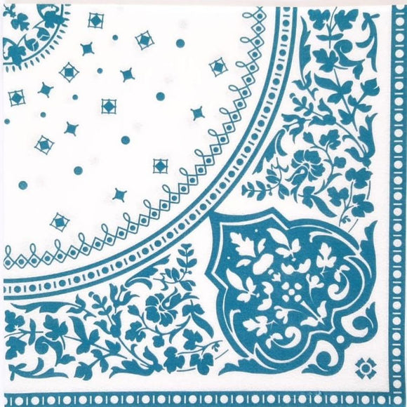 Indian Teal Biodegradable Napkins - Must Love Party