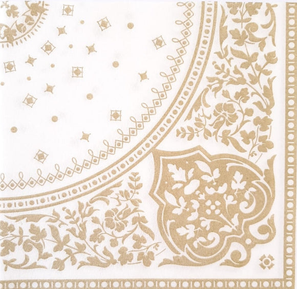Indian Light Gold Biodegradable Napkins