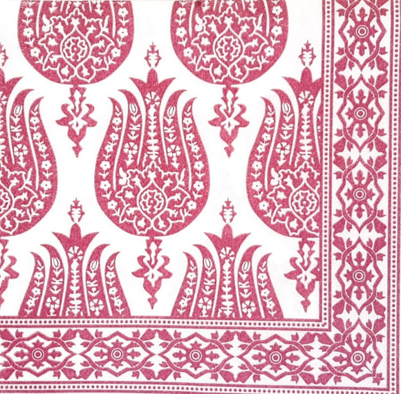 Pomegranate Magenta Airlaid Napkins (25)