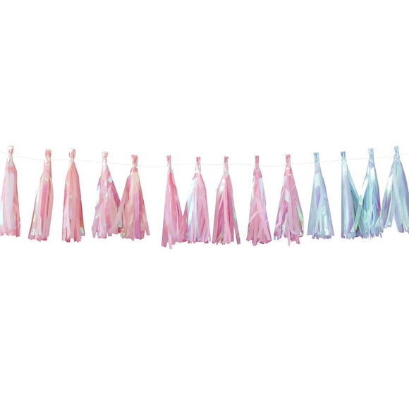 Iridescent Party Tassel Garland - Must Love Party