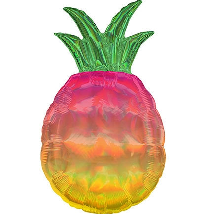 Iridescent Pineapple Foil Balloon - Must Love Party