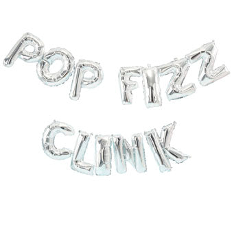 Pop, Fizz, Clink Foil Balloon - Must Love Party