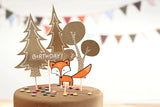 Woodland Cake Toppers - Must Love Party