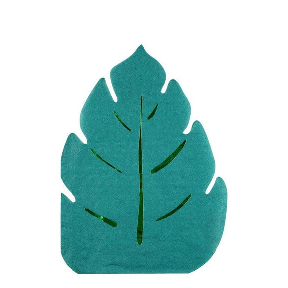 Palm Leaf Napkins - Must Love Party