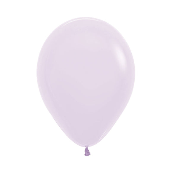 Mini Matte Pastel Lilac Balloons - Must Love Party