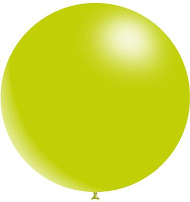 Jumbo Latex Round - Lime - Must Love Party