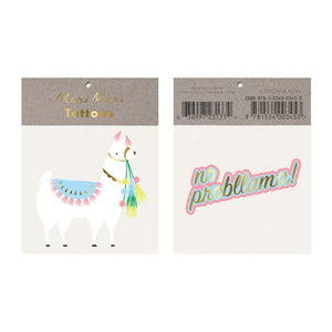 Llama Tattoos - Must Love Party