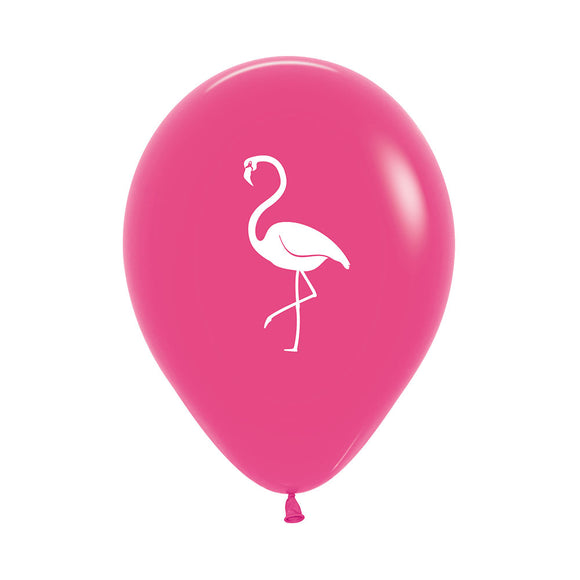 Hot Pink Flamingo Balloons (3) - Must Love Party