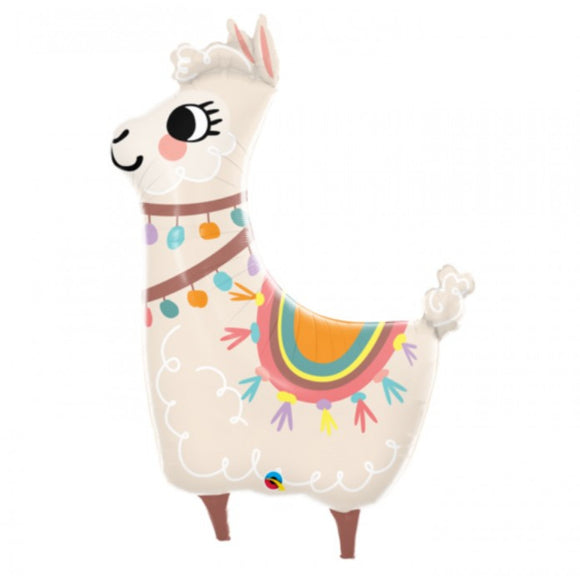 Lovable Llama Foil Balloon - Must Love Party