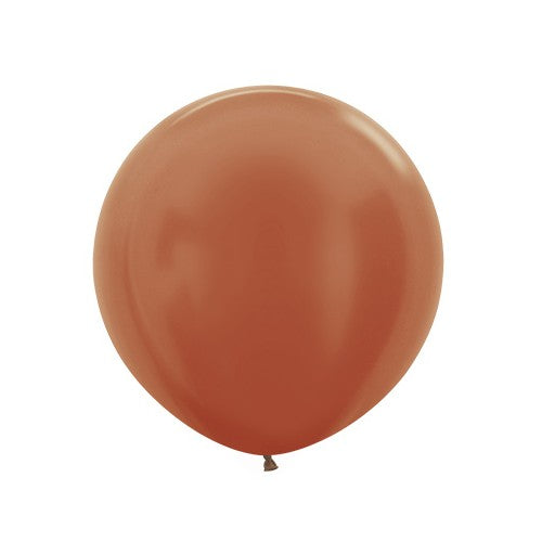 Jumbo Latex Metallic Copper - Must Love Party