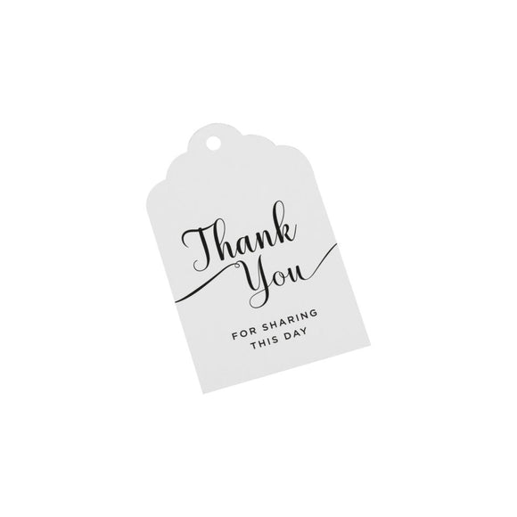 Thank You Tags - Must Love Party
