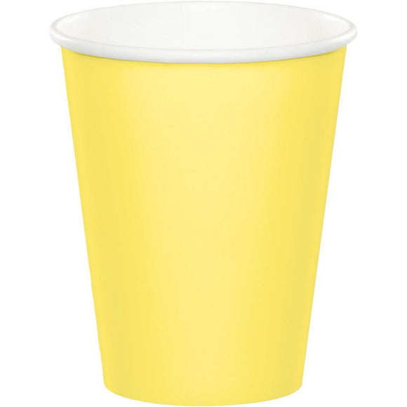 Plain Mimosa Paper Cups
