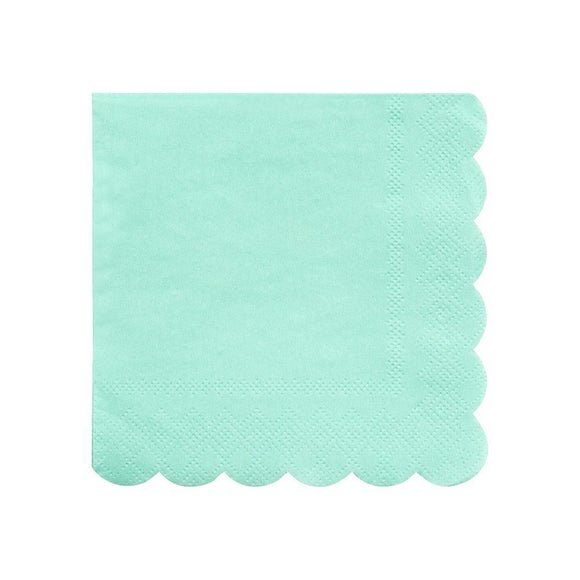 Mint Small Napkins - Must Love Party