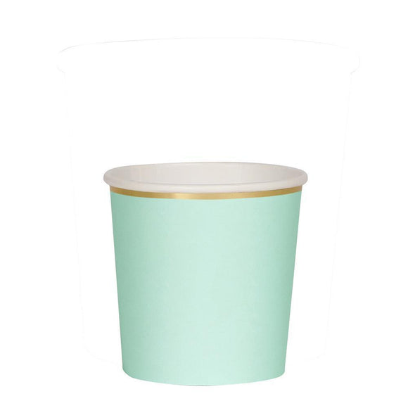 Mint Tumbler Cups - Must Love Party