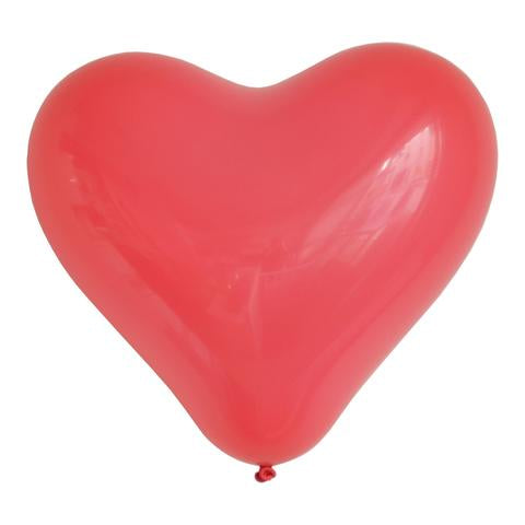 Red Heart Balloons (3) - Must Love Party