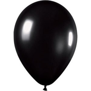 Balloons - Metallic Black